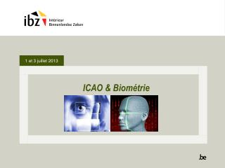 ICAO &  Biométrie