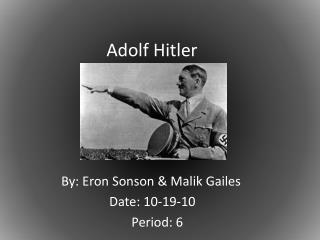 Adolf  H itler