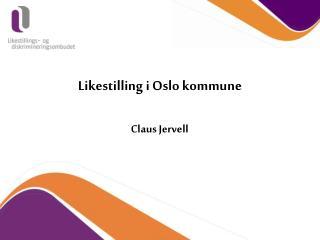 Likestilling i Oslo kommune