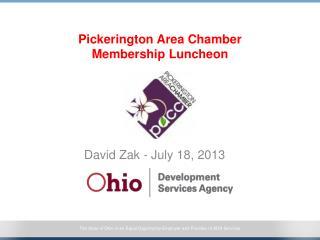 Pickerington Area Chamber Membership Luncheon