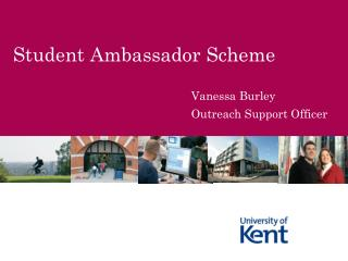 Student Ambassador Scheme