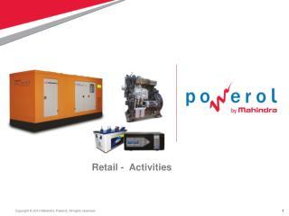 Retail -  Activities