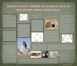 ISSUES NATIVE AMERICAN WOMEN FACE IN RECOVERY FROM ADDICTION
