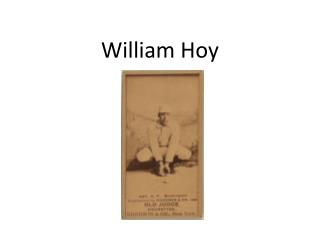William Hoy