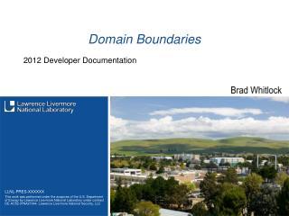 Domain Boundaries