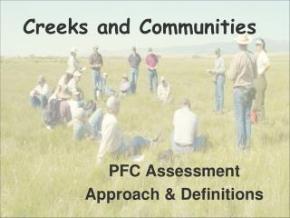 PFC Assessment Approach  Definitions