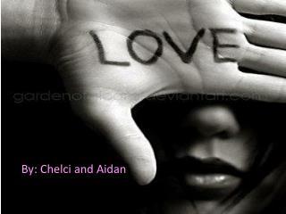 By:  Chelci  and Aidan