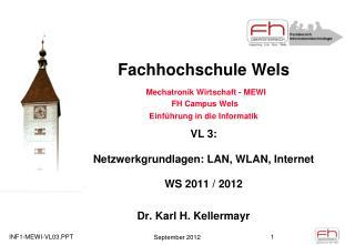 Dr. Karl H. Kellermayr