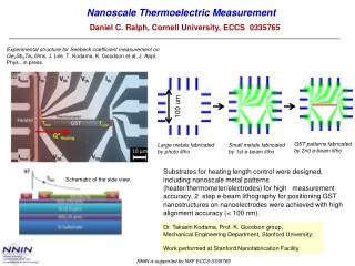 Nanoscale  Thermoelectric Measurement