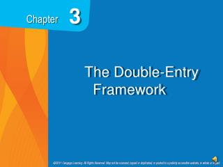 The Double-Entry Framework