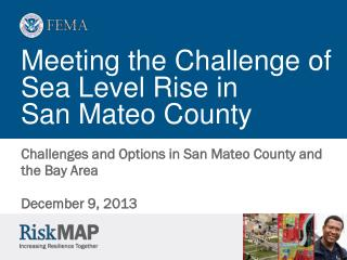 Meeting the Challenge of Sea Level Rise in  San Mateo County