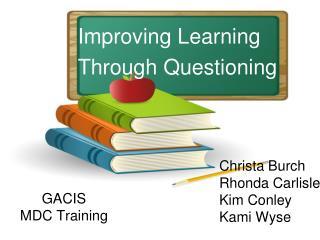 GACIS  MDC Training