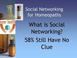 Social Networking for Homeopaths