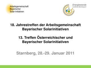Starnberg, 28.-29. Januar 2011
