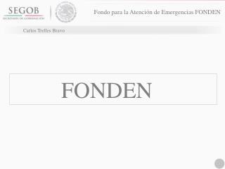 Fondo para la Atenci�n de Emergencias FONDEN