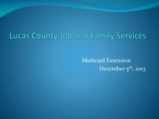 Lucas County Job and Family Services