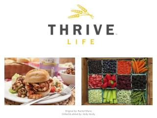 Thrive Qualities