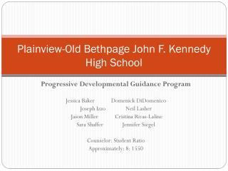 Plainview-Old Bethpage John F. Kennedy High School