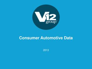 Consumer Automotive Data