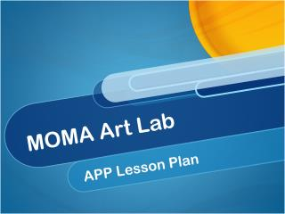 MOMA Art Lab