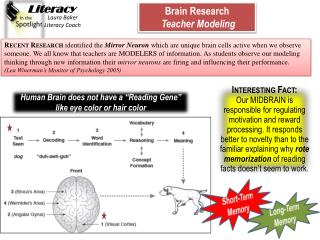 "Human Brain does not have a ""Reading Gene"" like eye color or hair color"