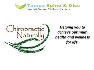 Tampa Chiropractor