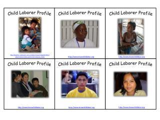 Child Laborer Profile