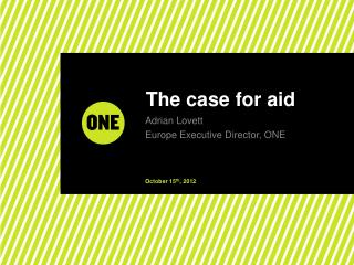 The case for aid
