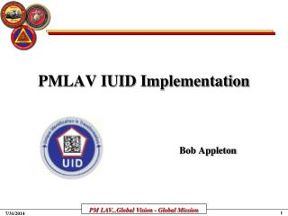 PMLAV IUID Implementation