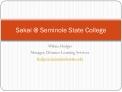 Sakai  Seminole State College