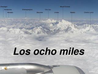 Los ocho miles