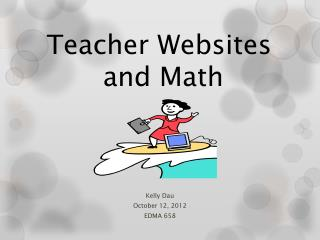 Teacher Websites  and Math
