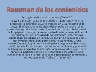 loretahur.wikispaces/Web+2.0
