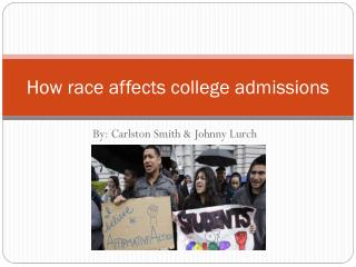 How race affects college admissions