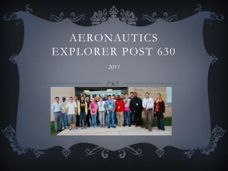 Aeronautics Explorer Post 630