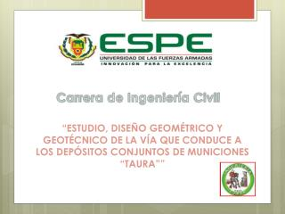 Carrera de Ingeniería Civil