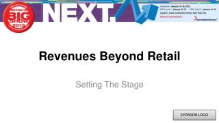 Revenues Beyond Retail