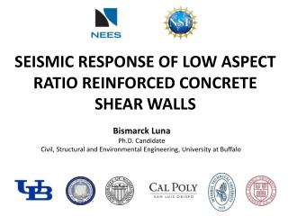 SEISMIC RESPONSE OF LOW ASPECT RATIO REINFORCED CONCRETE Shear WALLS