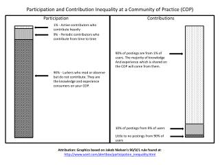 Participation and Contribution Inequality at a Community of Practice (COP)