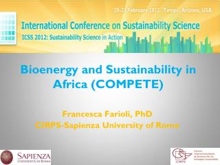 Bioenergy  and  Sustainability  in Africa (COMPETE)