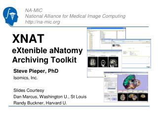 XNAT eXtenible aNatomy Archiving Toolkit