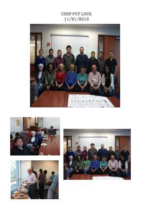 CDSP Pot Luck 11/21/2013