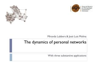 The dynamics of personal networks