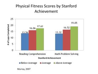 Physical Fitness Scores by Stanford Achievement