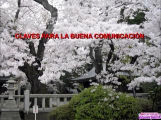 CLAVES PARA LA BUENA COMUNICACIÓN