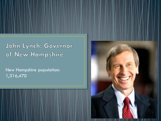 John Lynch: Governor of New Hampshire