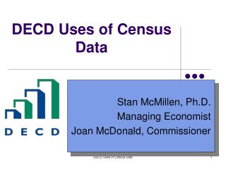 DECD Uses of Census Data