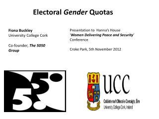 Electoral  Gender  Quotas