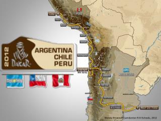 El Rally Dakar originó en 1979.