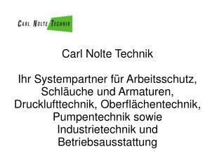 Carl Nolte Technik